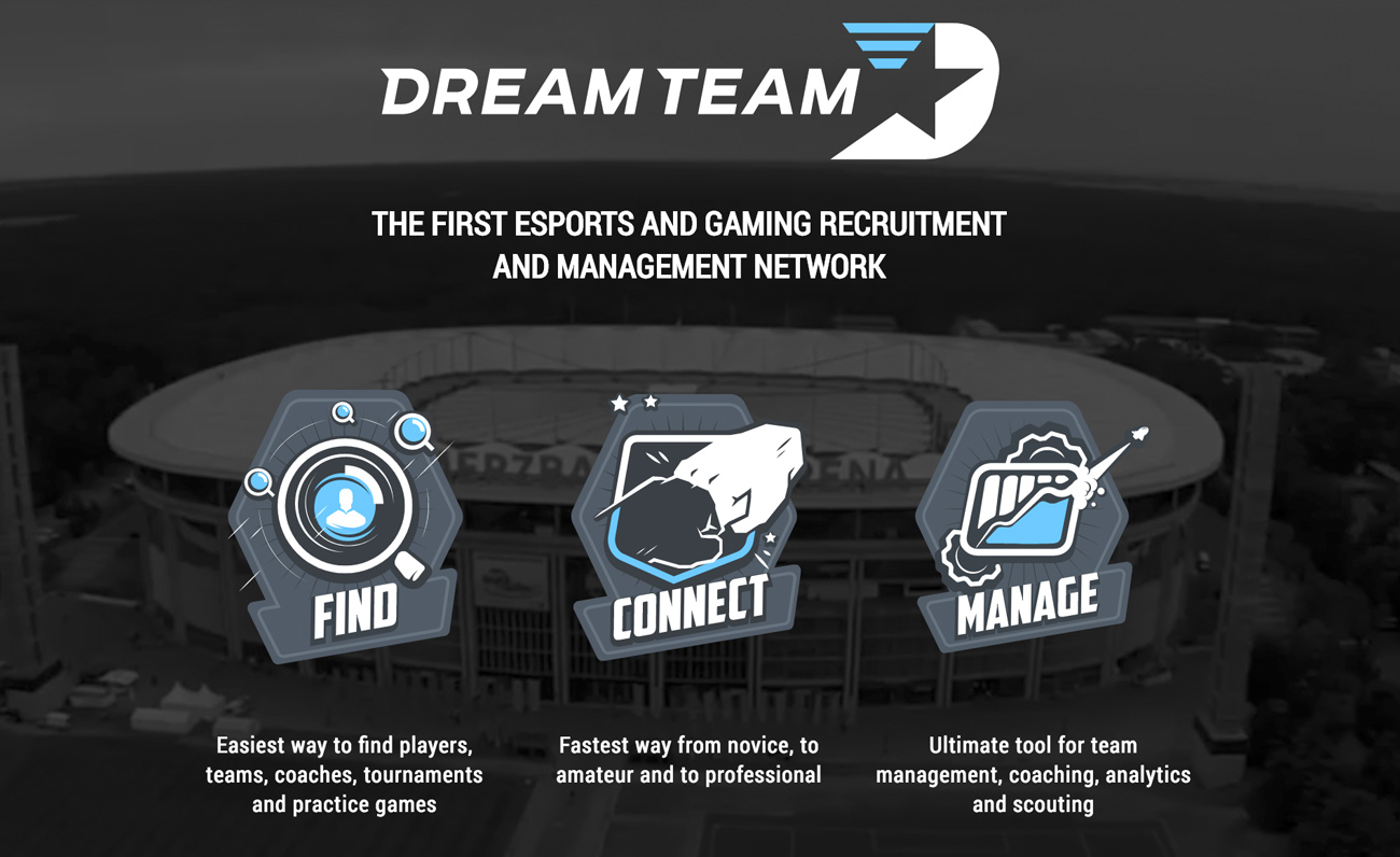 DreamTeam esports blockchain