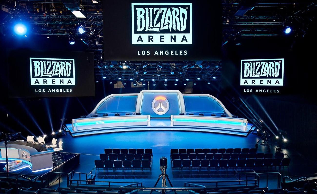 BlizzardAreanaStage esports