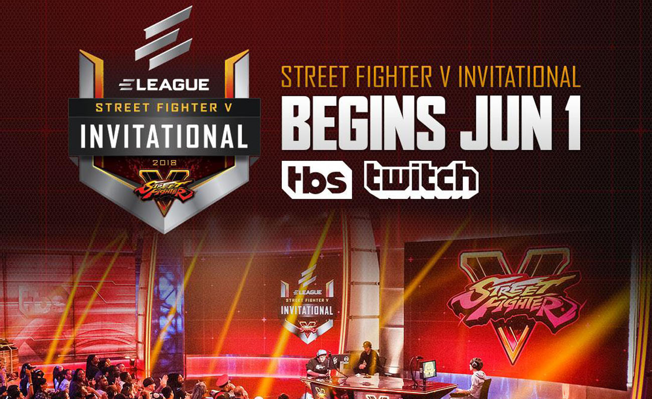 Eleague SFV Invitational esports