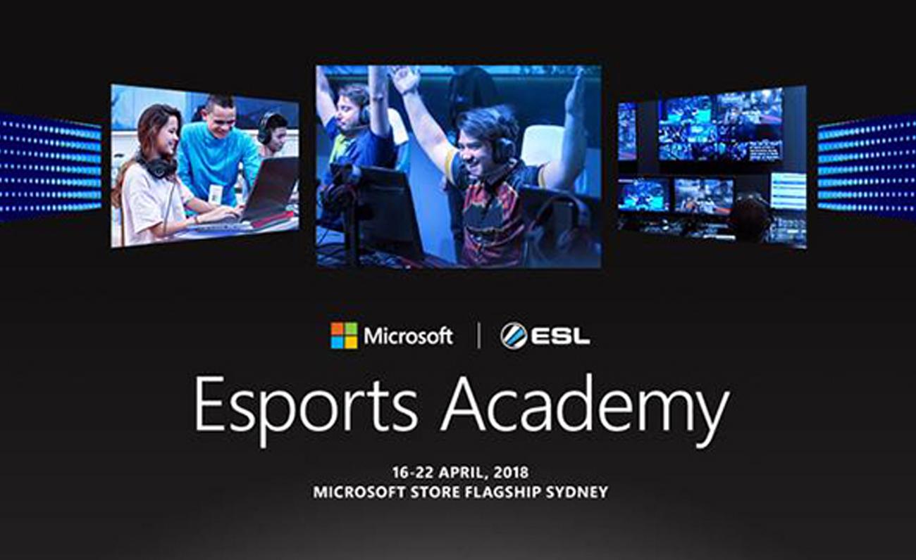 ESL Microsoft formación esports