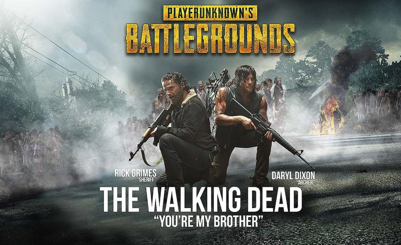 PUBG The Walking Dead