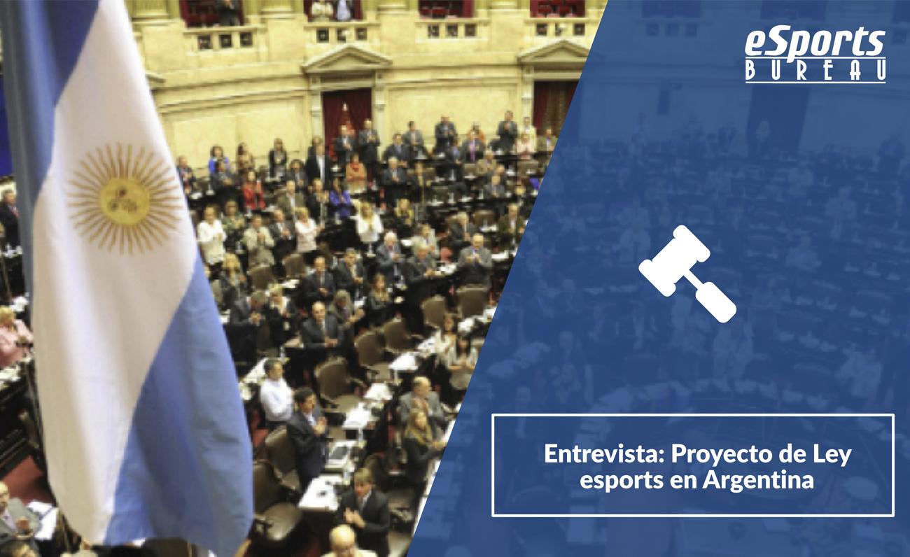 Argentina Proyecto Ley Esports