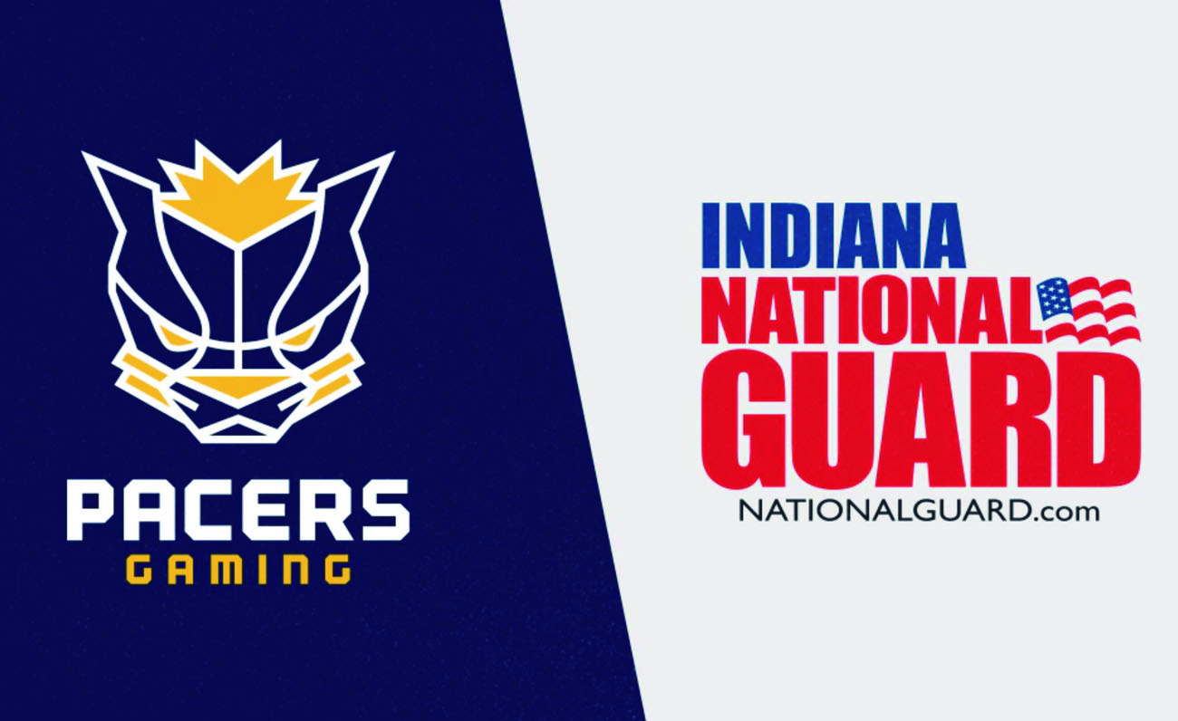 Pacers Indiana National Guard esports