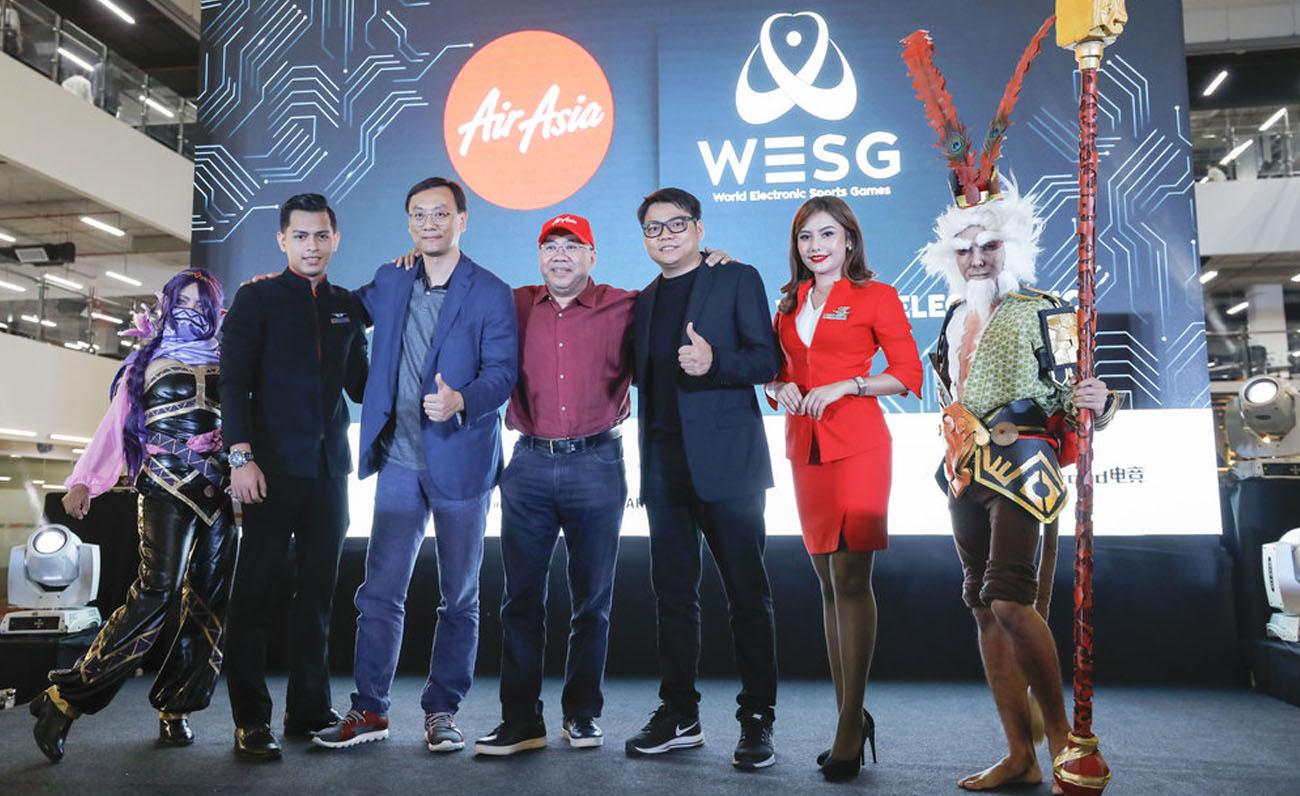 AirAsia WESG patrocinios esports