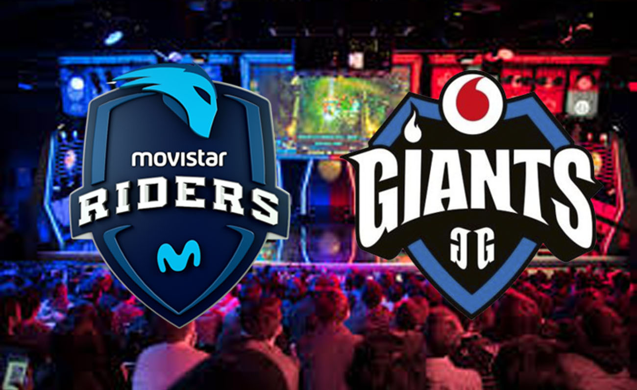 Movistar Riders Vodafone Giants EU LCS Esports