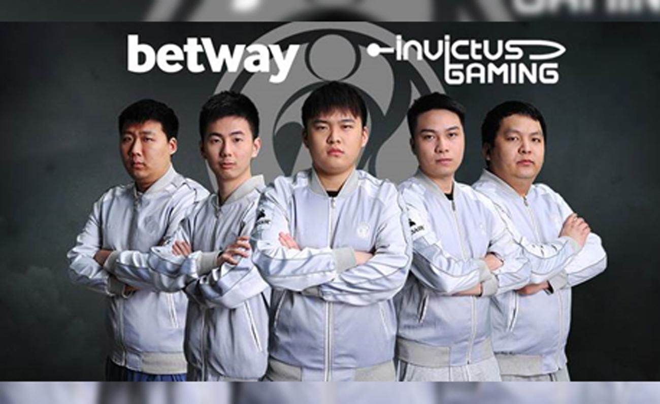 Betway Invictus Gaming patrocinios esports