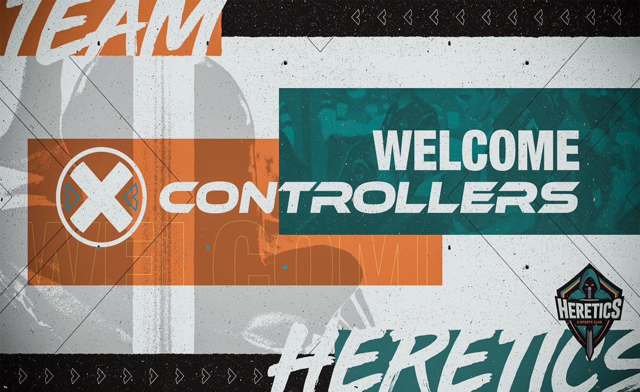 Heretics X Controllers esports