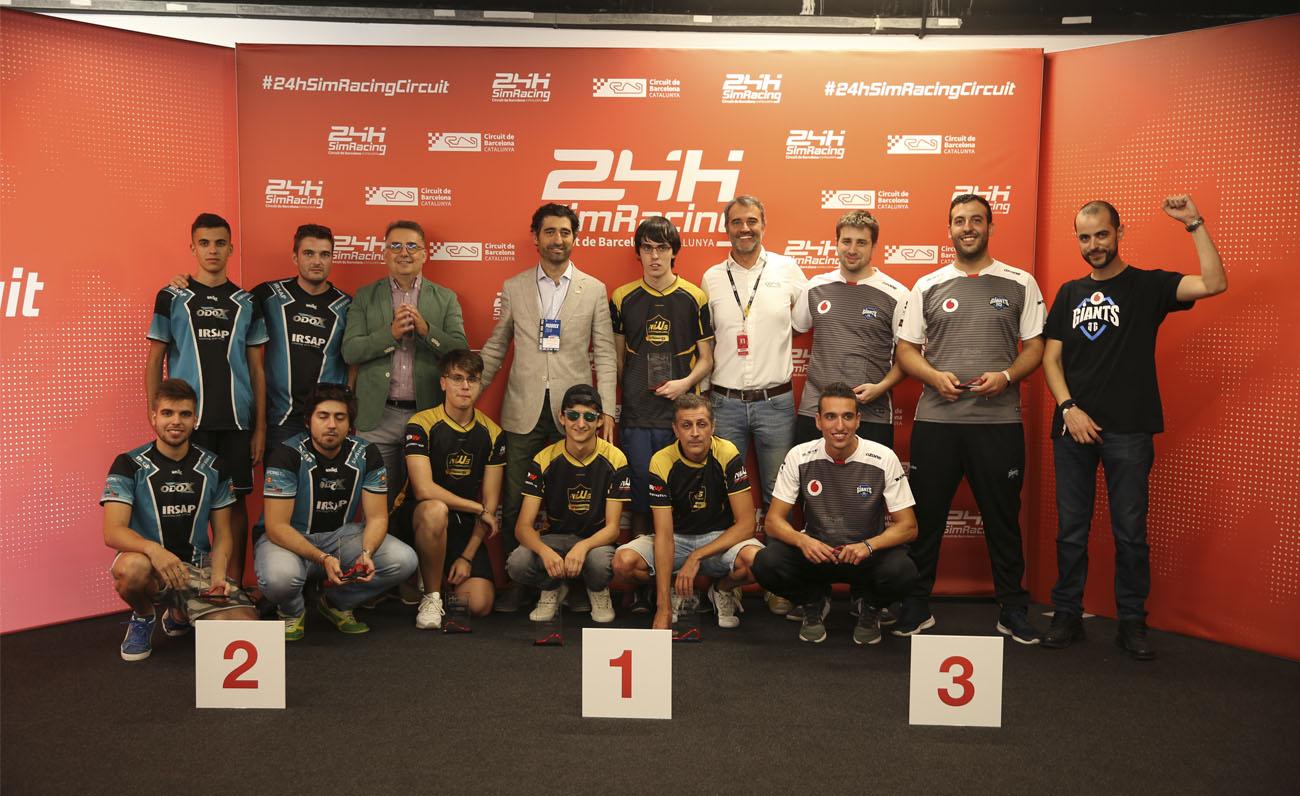 24H Sim Racing Podio