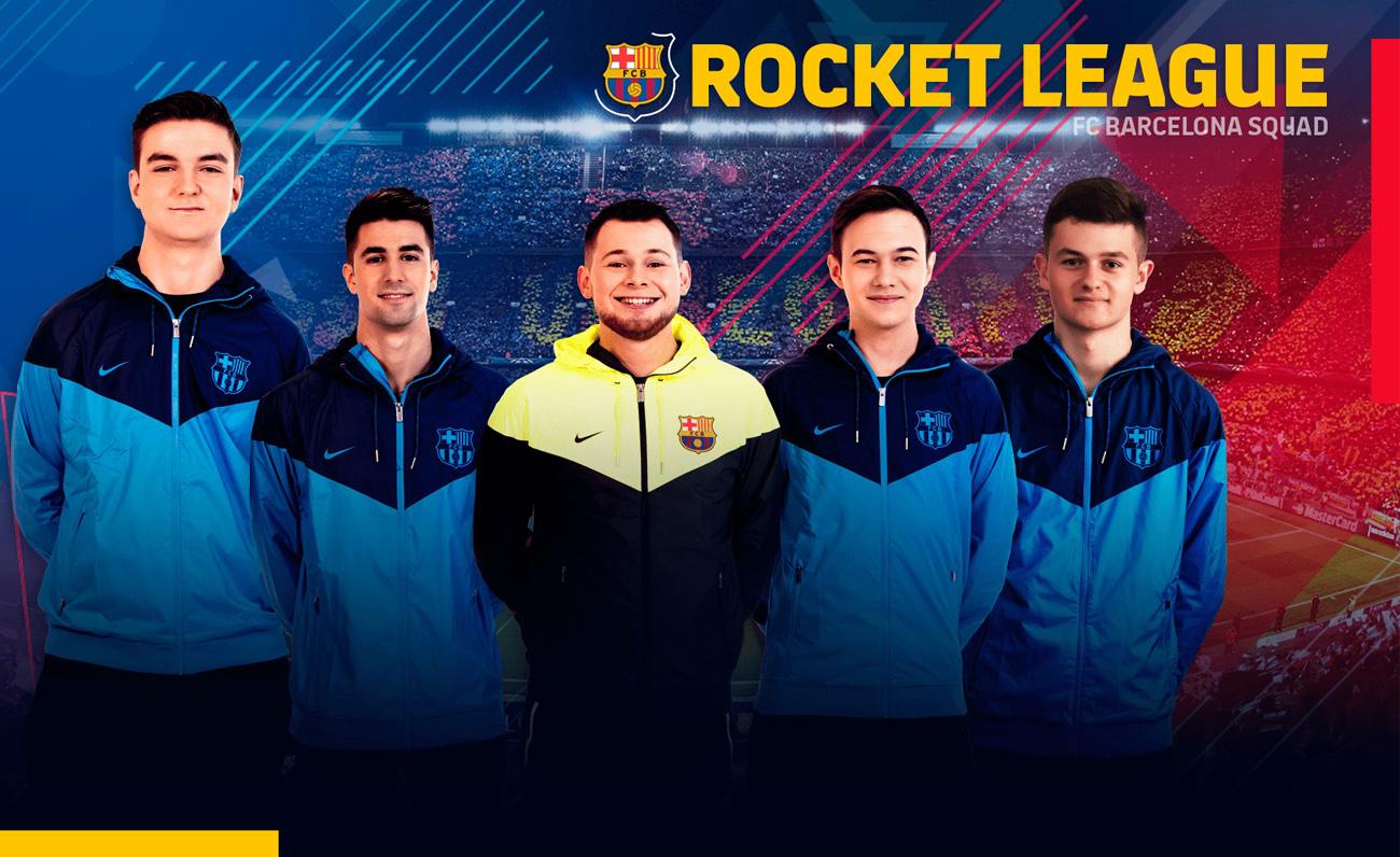 FCBarcelona RocketLeague