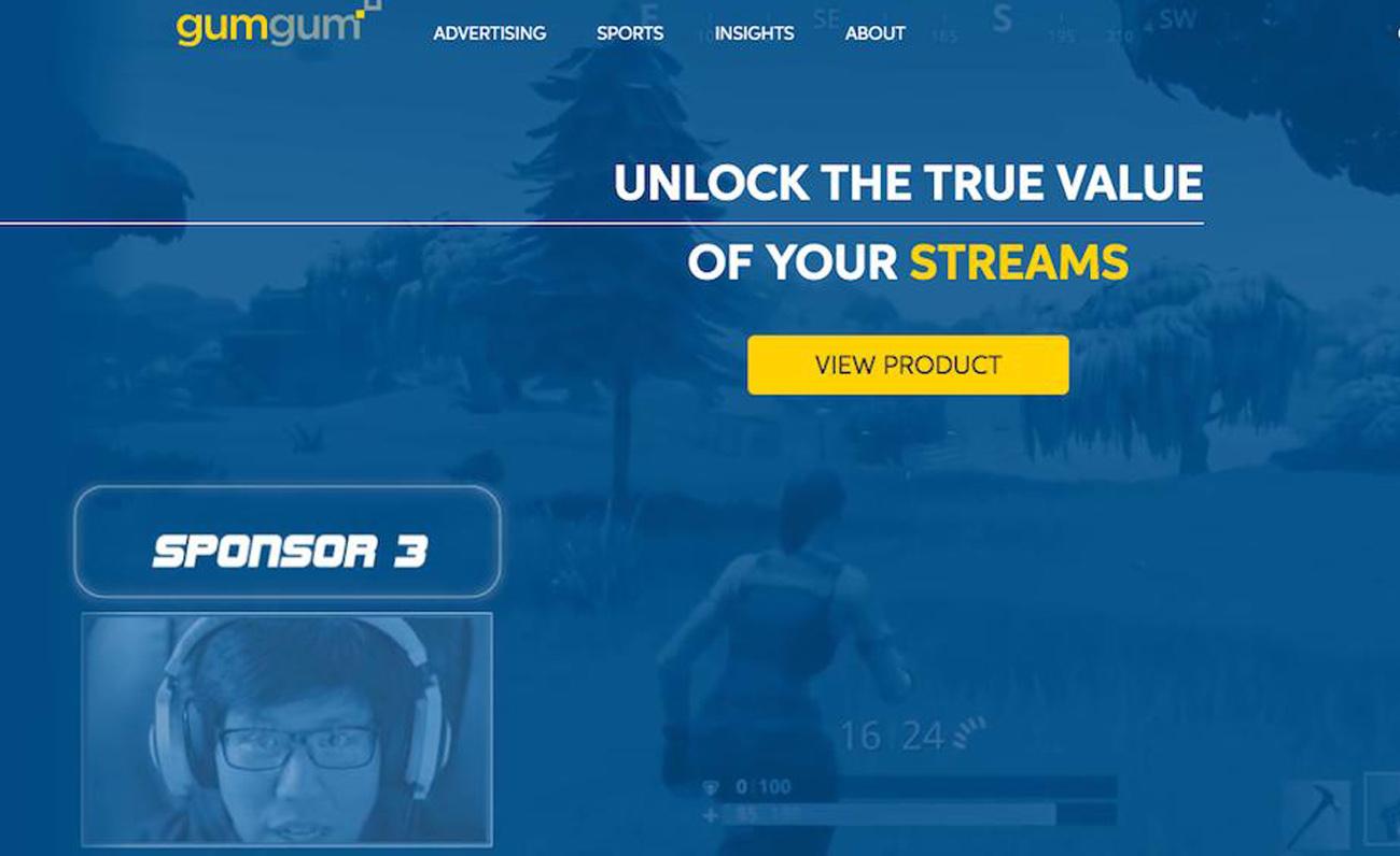 GumGum Sponsor Platform