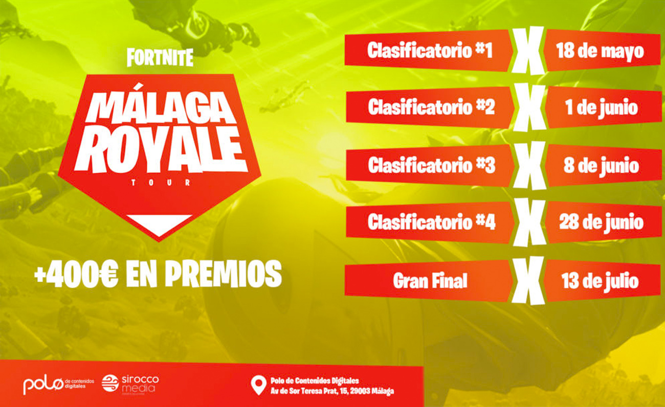 Polo Digital Malaga Royale Fortnite