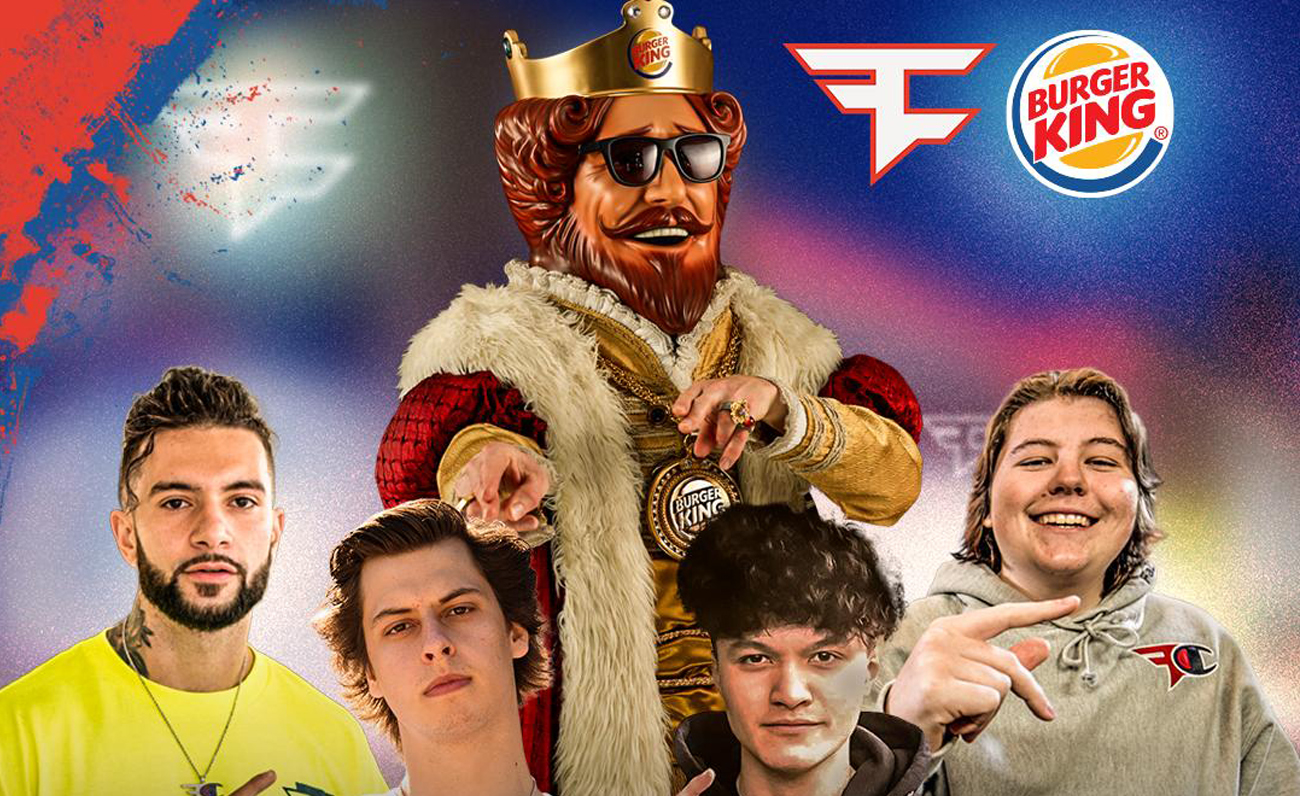 FaZe Clan Burger King