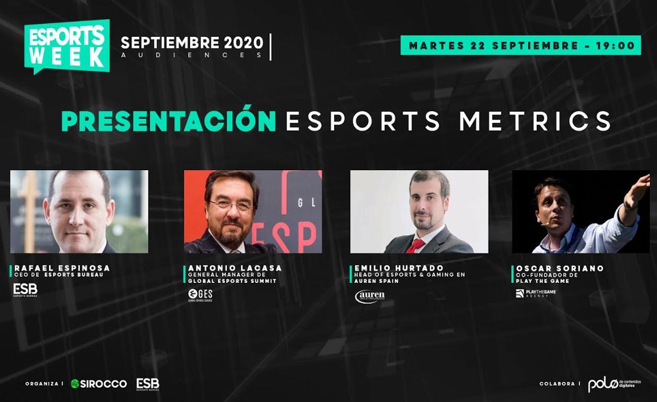 Esports Week Audiencias Sesion 1