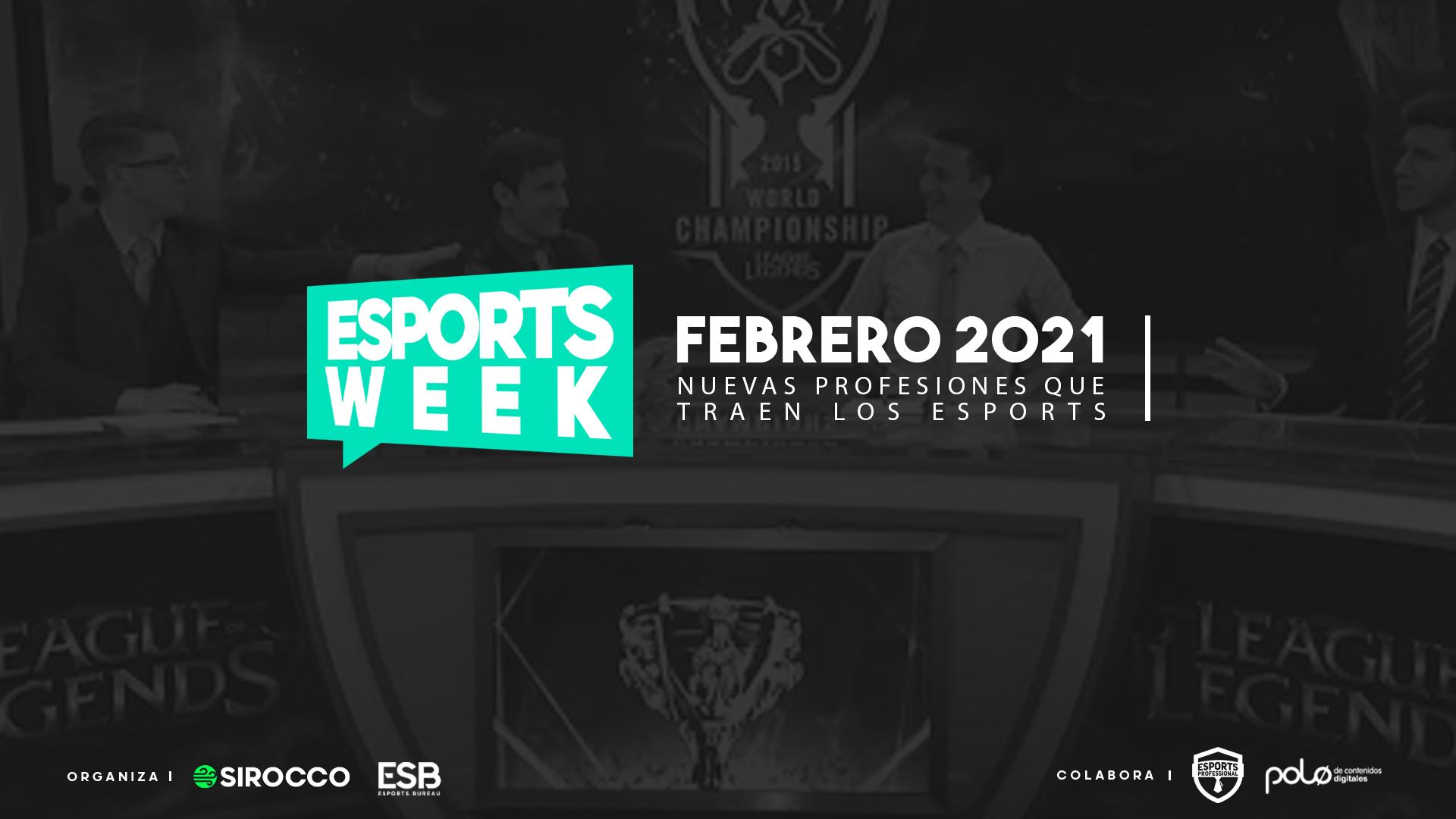 Esports Week Profesiones Epsorts