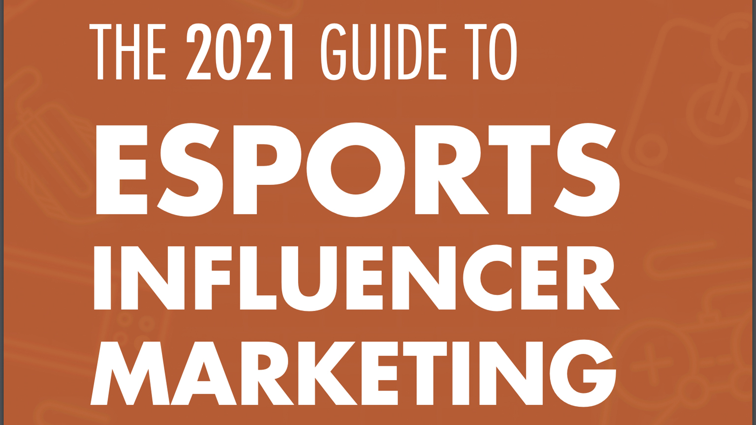 Esports Group Influencer Marketing