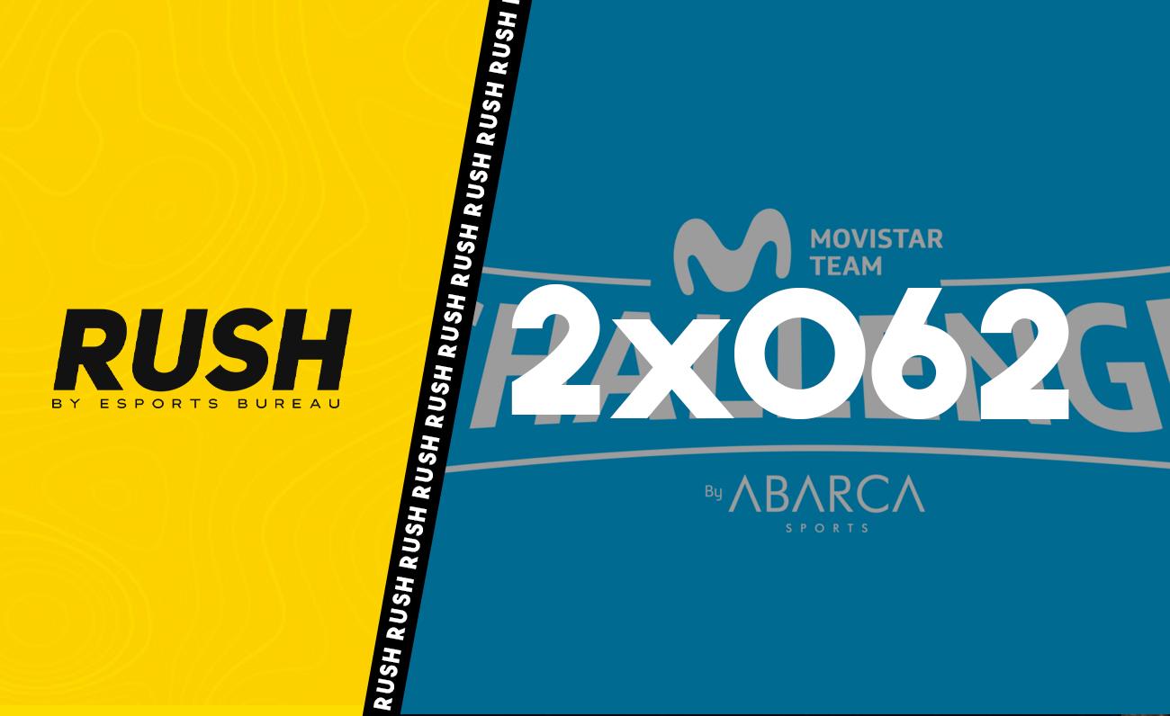 RUSH 2x062 Movistar Team