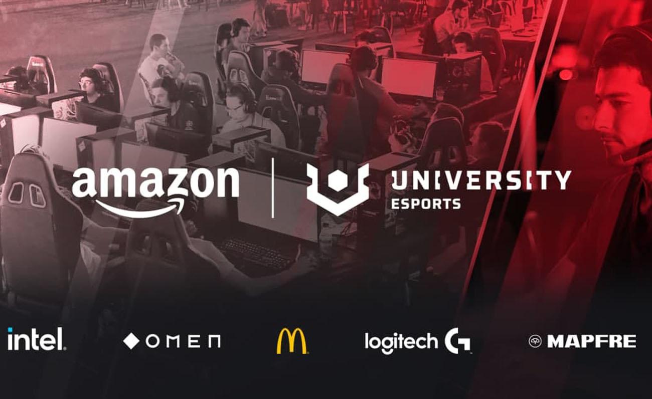 Amazon University Esports Alemania y Francia