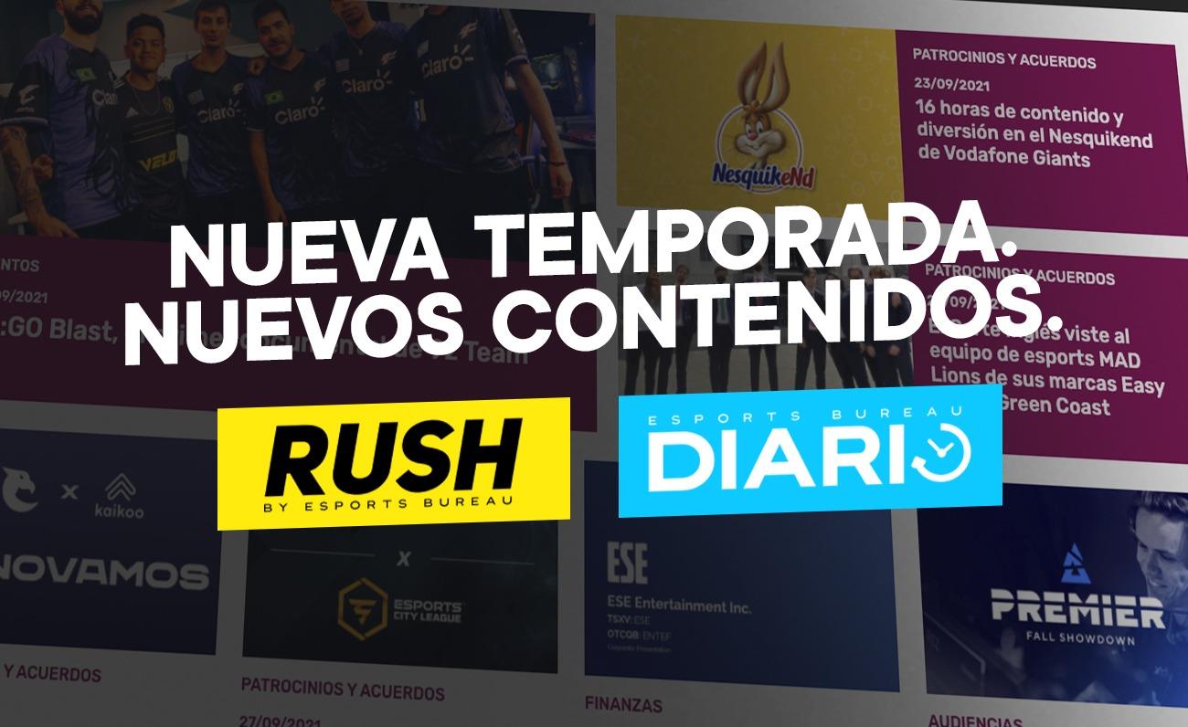 Nueva temporada RUSH y ESB Diario