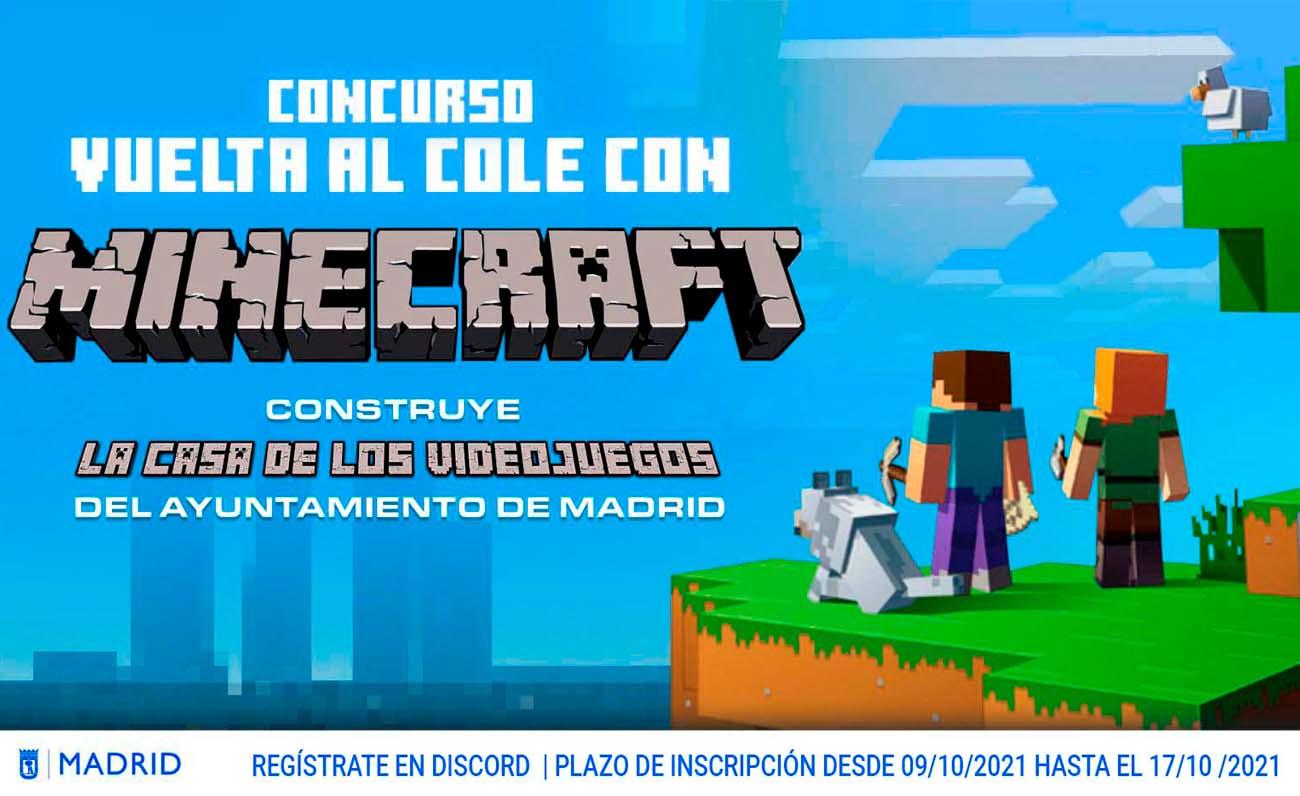 MKTG Minecraft Ayuntamiento Madrid
